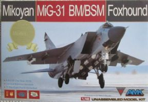 AMK88003S 1/48 Mikoyan MiG-31BM/BSM Limited Edition